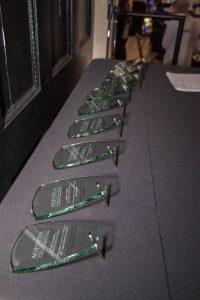 Trophées à pour nos lauréats